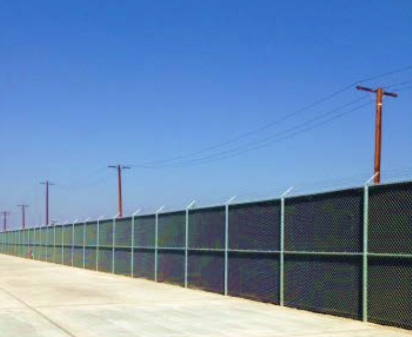 AcoustiFence Airport Installation