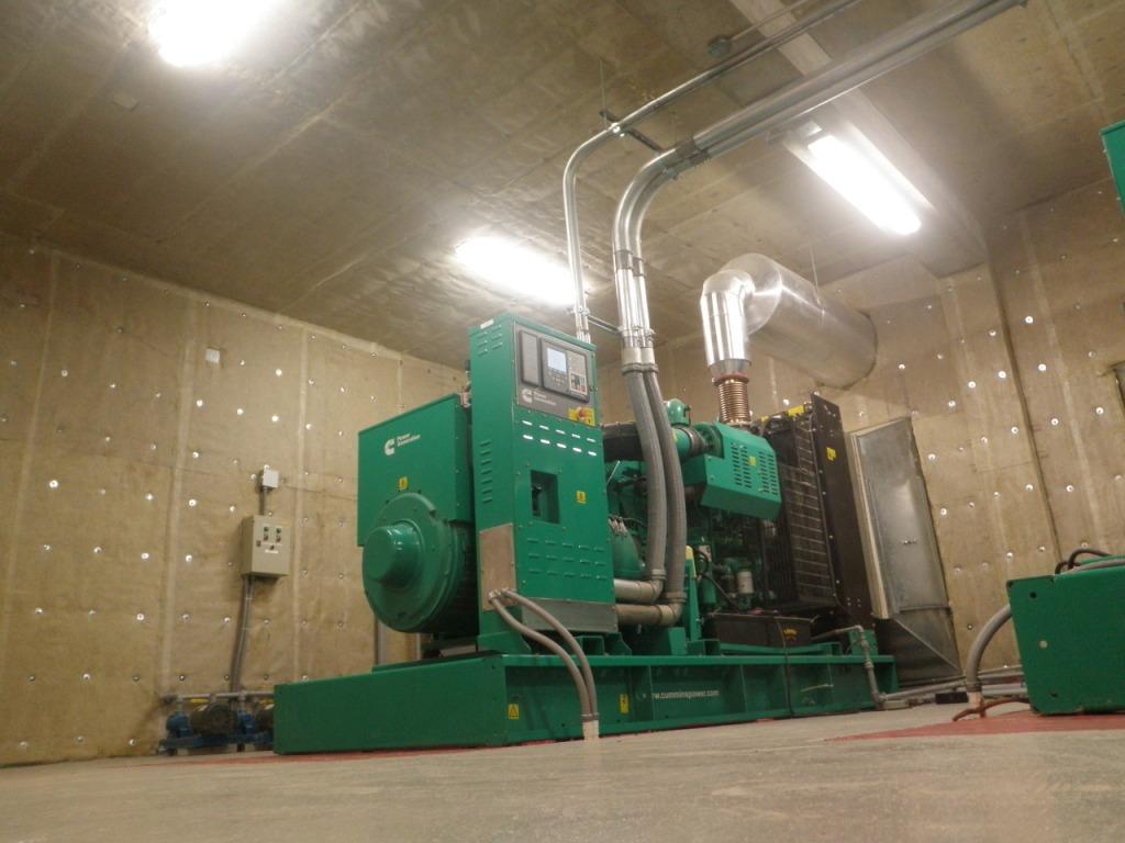 Multiplaza Generator Room - Acoustiblok Installation