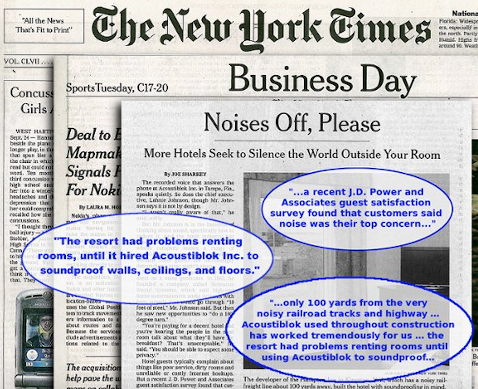 New York Times - Business Day Hotels